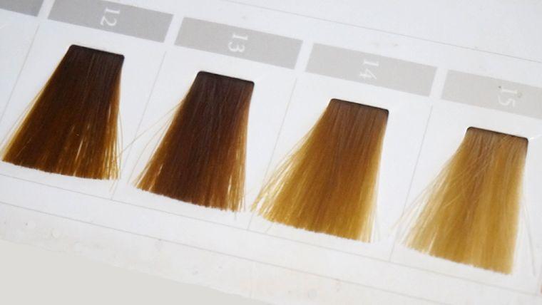春タイプのヘアカラー