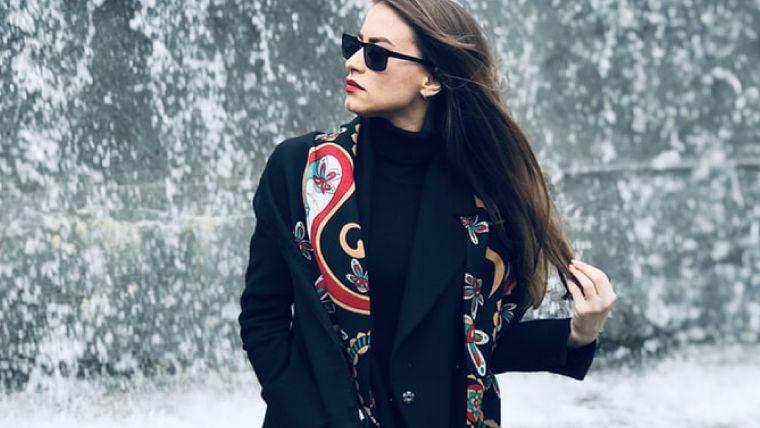 ブルベ冬のファッションポイント